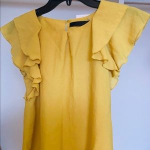 Ruffle Top NEW with tag